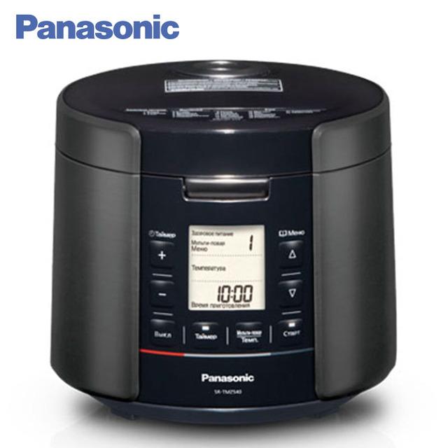"""Panasonic SR-TMZ540 цифровая мультиварка. 3D нагрев, 5 литров. 22 автоматические программы,функция """"Мультиповар"""". Книга с рецептами. Таймер. Подогрев до 96 часов, отсрочка до 24 часов,пароварка с регулируемой глубиной."""
