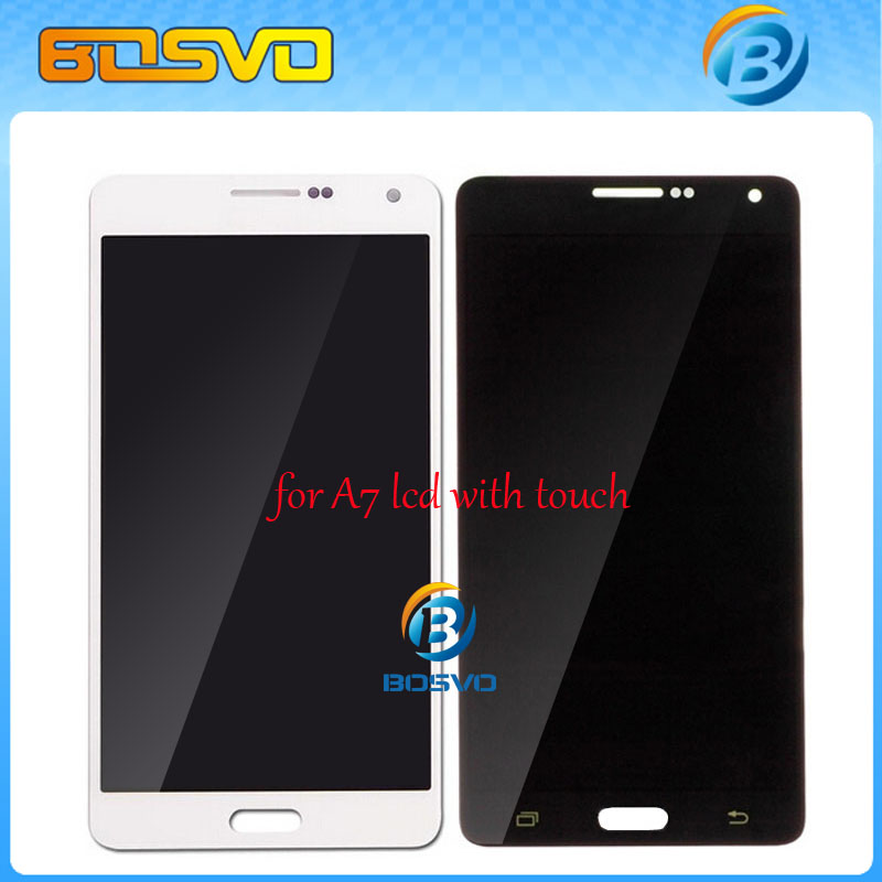 Free DHL EMS shipping new ! replacment for Samsung galaxy A7 LCD A7000  Screen Display Touch Digitizer Assembly 5 pieces a lot