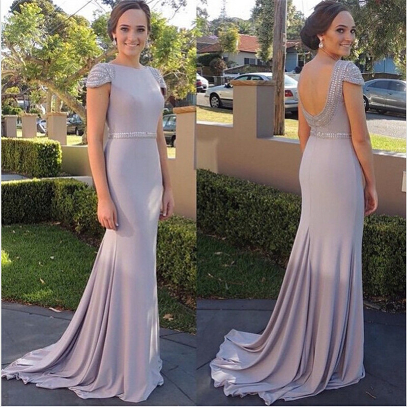 Zz514 отличительной коротким рукавом шифоновое платья 2016 бриллиант-линия кристалл спинки платье vestido де феста