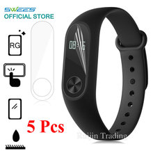 Buy 5 Pcs Screen Protector Case Xiaomi Mi Band 2 Ultrathin HD Film Guard Miband 2 Smart Wristband Bracelet Screen Cover for $1.04 in AliExpress store