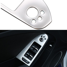 Buy 4pcs/set Car Stainless steel Interior Armrest Decoration Cover Trim Audi A4 B8 2009 2010 2011 2012 2013 2014 2015 LHD for $19.99 in AliExpress store