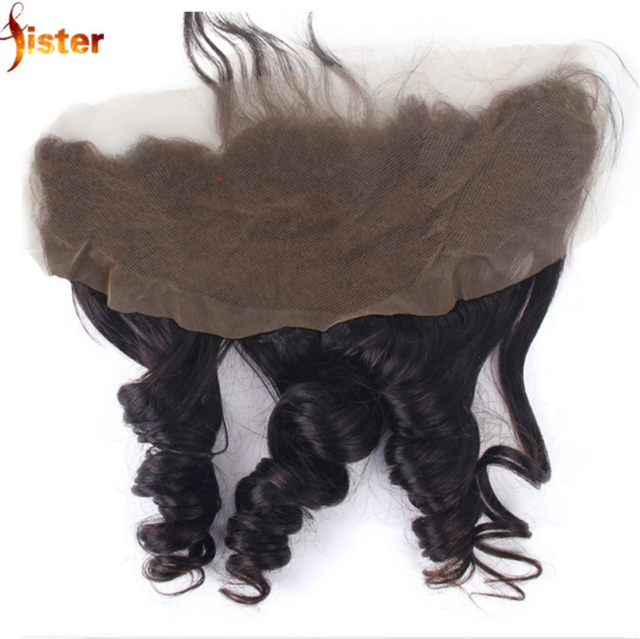 13*4 Peruvian Loose Wave Lace Frontal Closure From Ear To Ear,7A Virgin Human Hair Full Lace Frontal Closure With Baby Hair<br><br>Aliexpress