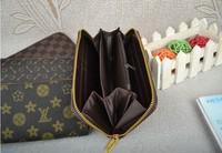 для s нового заезда дешевые марки пу кожаный бумажник моды молния монета дизайнер кошелек для женщин