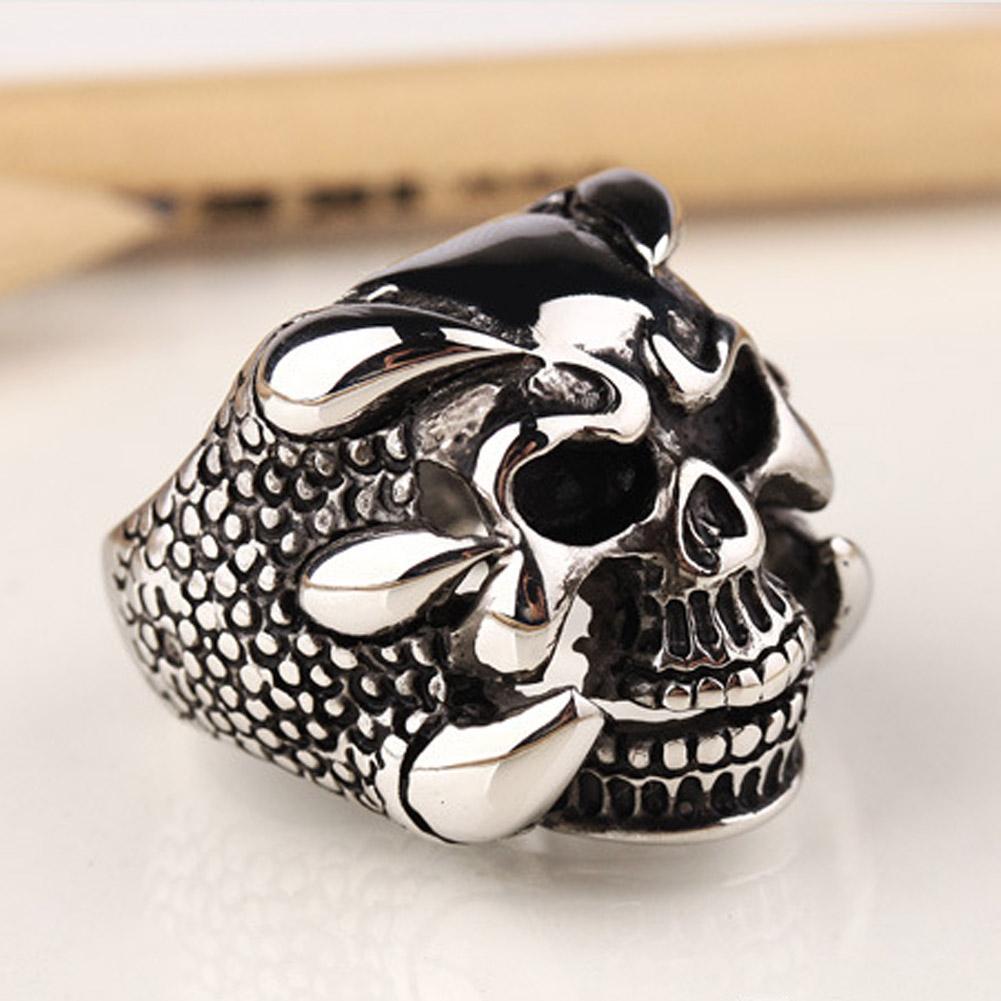 popular dragon skull ringbuy cheap dragon skull ring lots