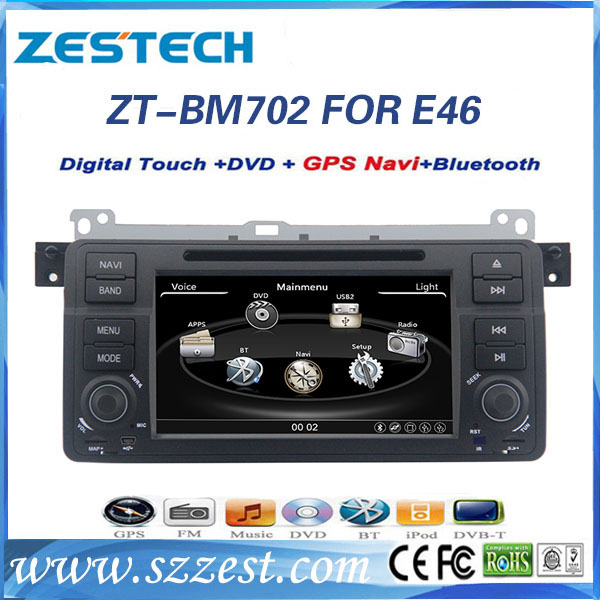 high quality car audio system for bmw e46 with reverse. Black Bedroom Furniture Sets. Home Design Ideas