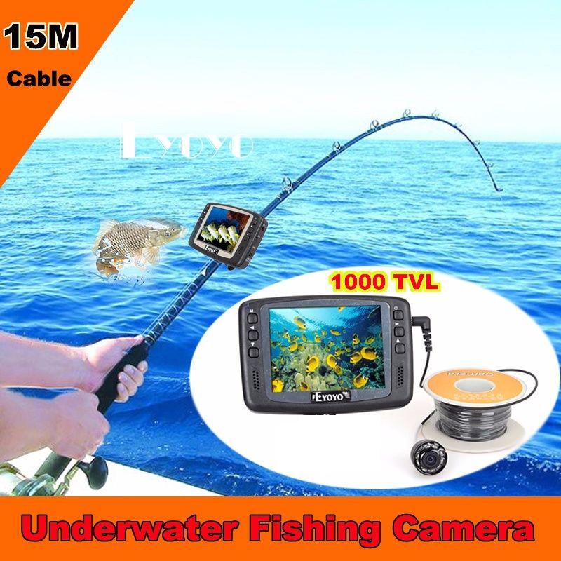 Free shipping 1000tvl underwater ice fishing camera fish for Underwater ice fishing camera