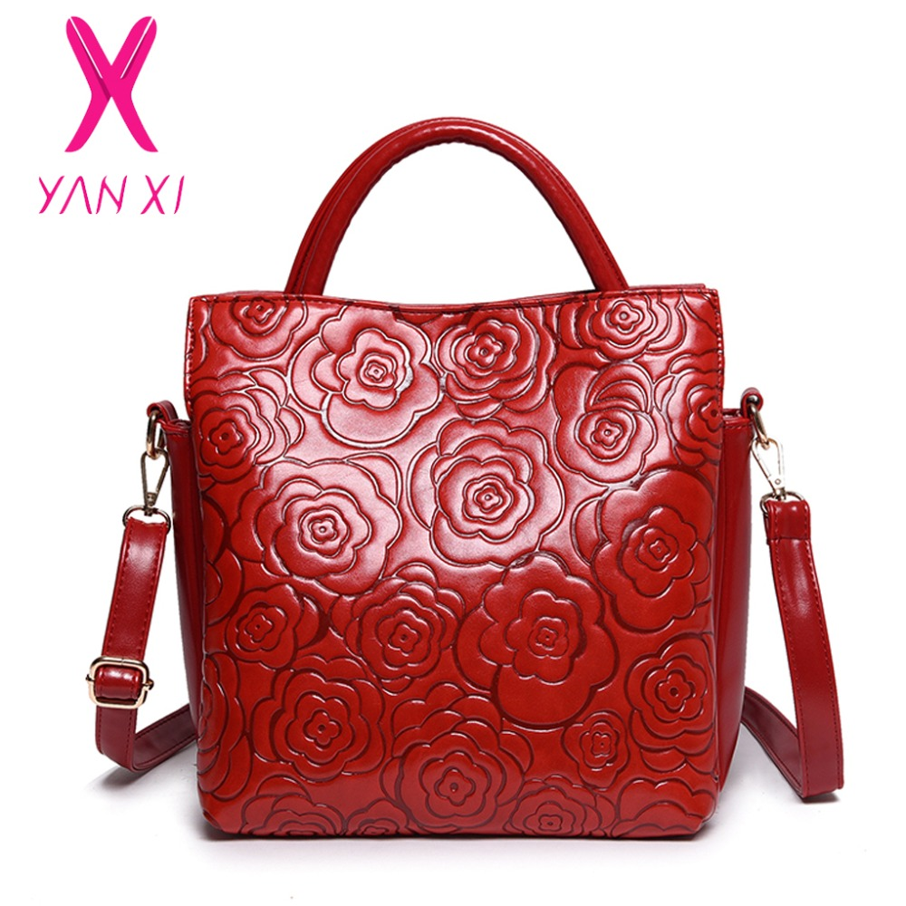 Factory Outlet Handbag Classic Women Bag High Quality PU Shoulder Bags Chinese Style Flower Print Picture Package(China (Mainland))
