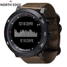 North edge relógio digital esporte masculino horas correndo natação esportes relógios altímetro barômetro bússola termômetro tempo homem(China)