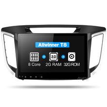 Asottu CIX251060 2G android 8,1 reproductor de dvd de navegación para coche 1024*600 para HYUNDAI IX25 CRETA gps estéreo para coche reproductor multimedia dvd(China)