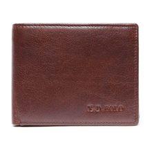 X. D. BOLO кошелек из натуральной кожи мужской короткий кожаный кошелек модный дизайн маленькие кошельки мужские кошельки для монет Мужская кр...(China)