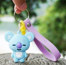 2019 nova DS3!!! Keroppi olá k melody PVC Keychain Corda Do Telefone Strap Charme Cords Lariat Talabartes Clipe Brinquedos figura Da Boneca(China)