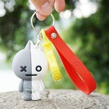 2019 nova DS6!!! Keroppi olá kitty melody PVC Keychain Corda Do Telefone Strap Charme Cords Lariat Talabartes Clipe Brinquedos figura Da Boneca(China)